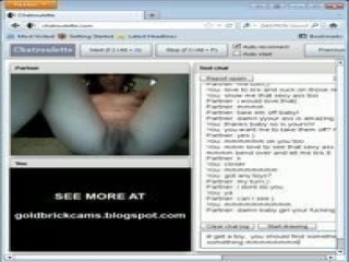 Chatroulette Girl Shows All